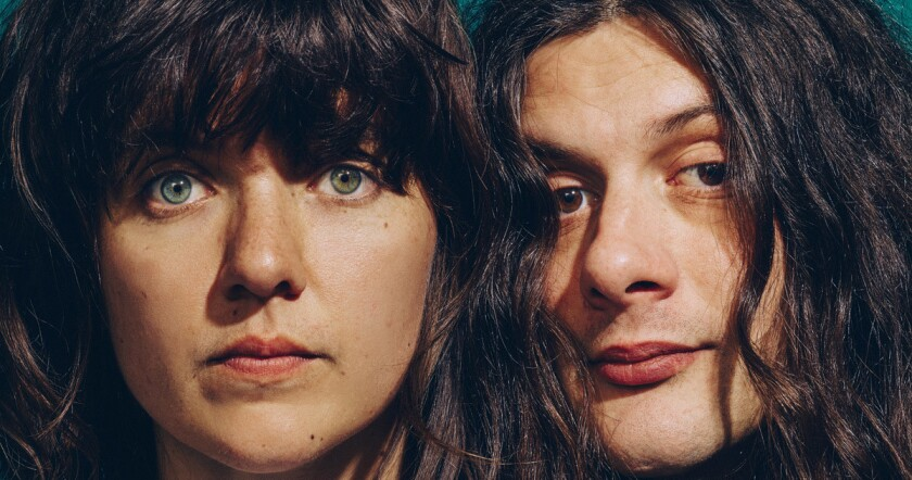 Courtney Barnett and Kurt Vile. (Danny Clinch)