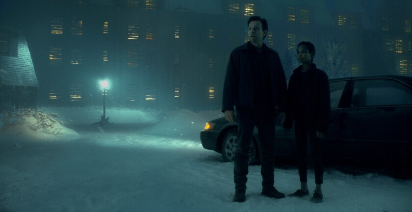 "Ewan McGregor as Dan Torrance and Kyliegh Curran as Abra Stone in Warner Bros.' supernatural thriller ""Doctor Sleep,"" an adaptation of Stephen King's 2013 novel."