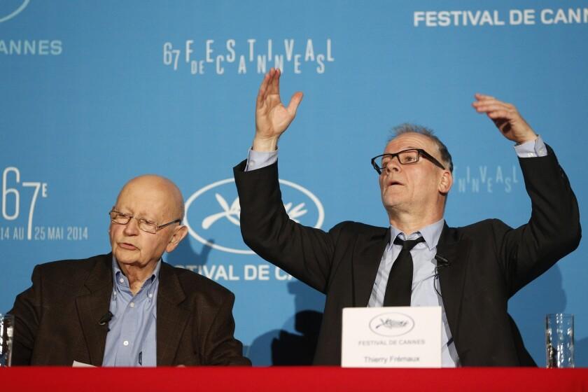 Cannes Film Festival press conference in Paris