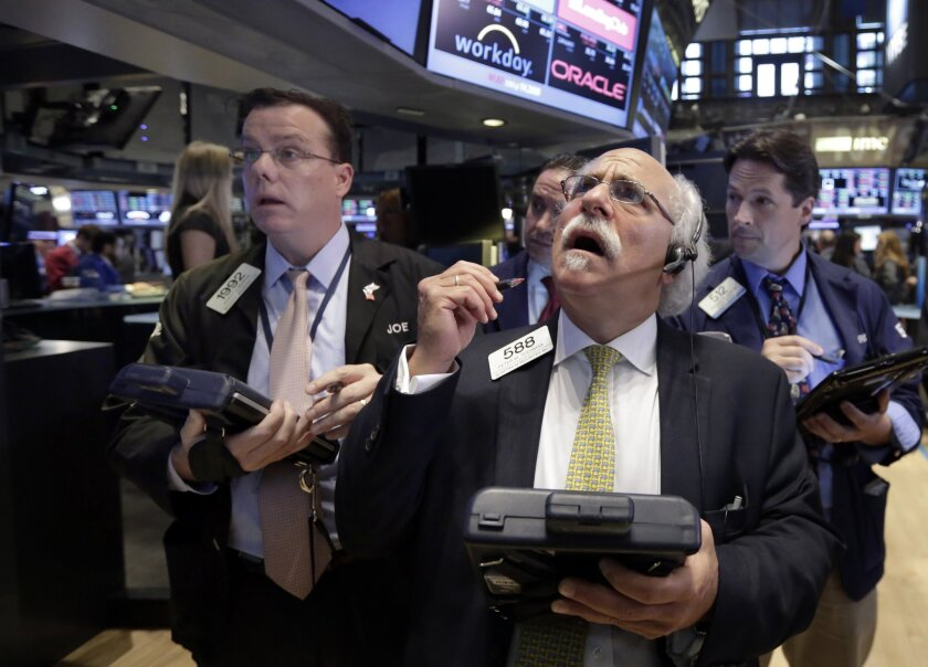 Financial advisors warn against making emotional sells after a stock market dip.