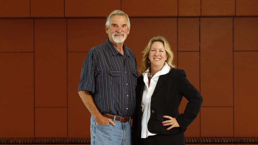Tom Patterson, and his wife, Steffanie Strathdee, are both professors at UC San Diego. Patterson con