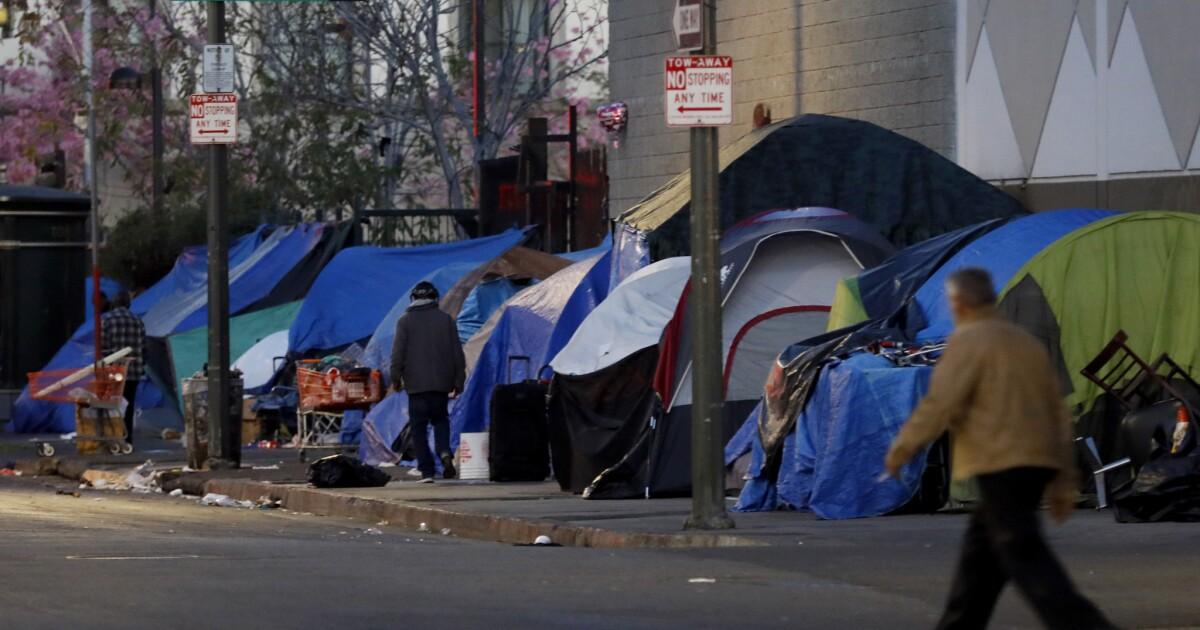L.A.スリリースの場所のための13のホームレスの一時避難のためのcoronavirus危機