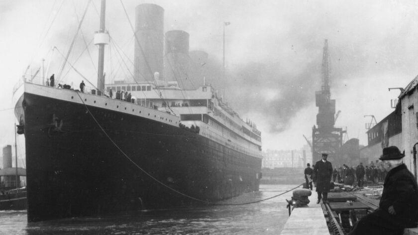 """Sean Murray considers himself a Titanic """"freak."""" He once co-hosted an elaborate, Titanic-themed dinn"""