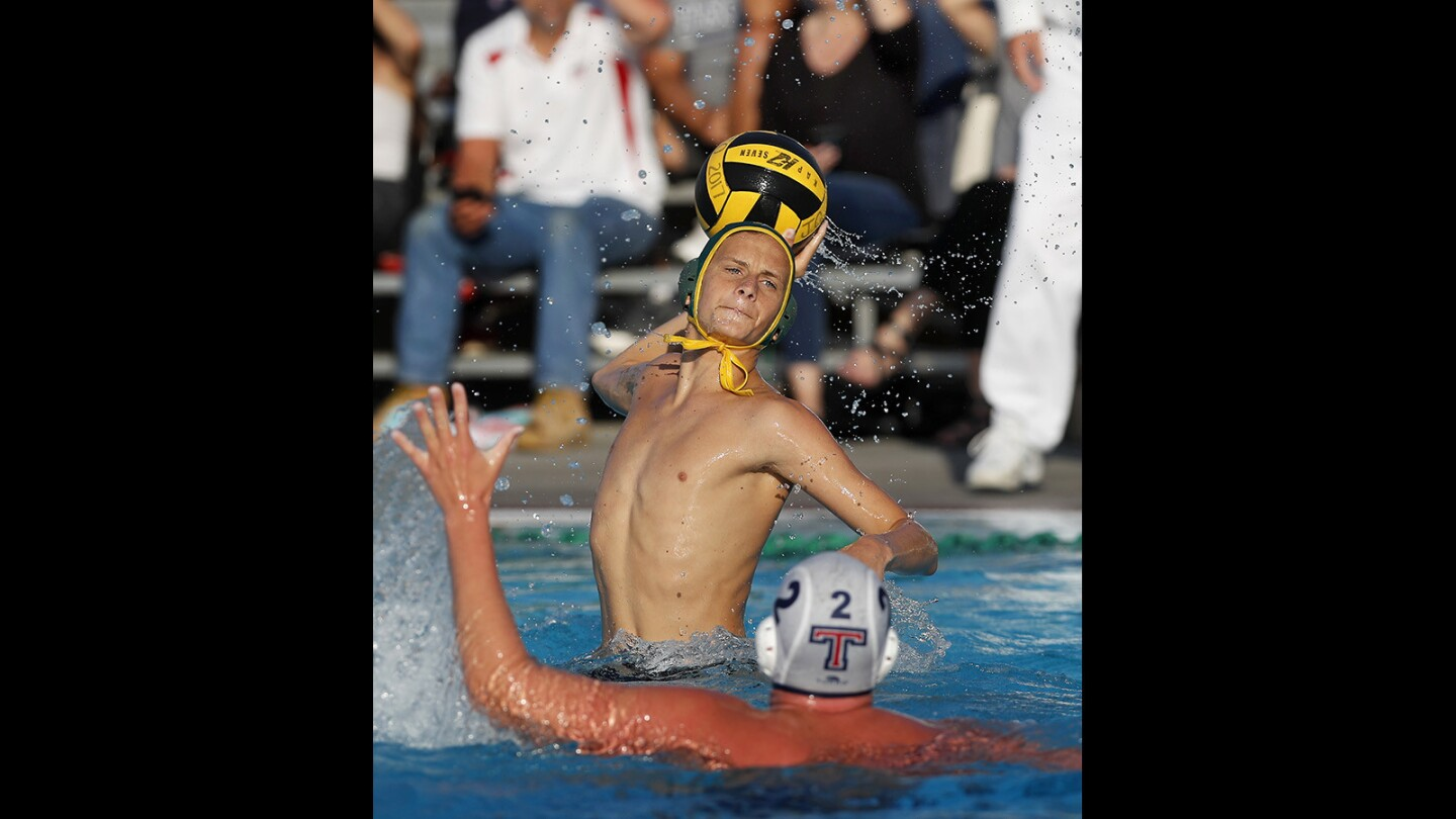 Photo Gallery: Edison vs. Tesoro in boys' water polo