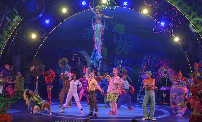 """The SpongeBob Musical"" sets the sincere simplicities of the long-running series to song."