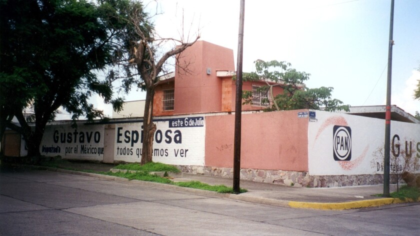 """Exterior of the house in Guadalajara where Enrique """"Kiki"""" Camarena was tortured in 1985."""