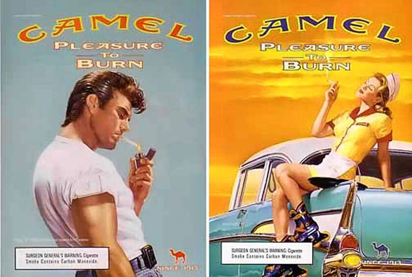 Camel still holds the record for the most cigarettes sold in a single year: 105 billion in 1952.