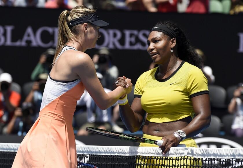 Serena Williams beats Maria Sharapova to advance to Australian Open semifinals