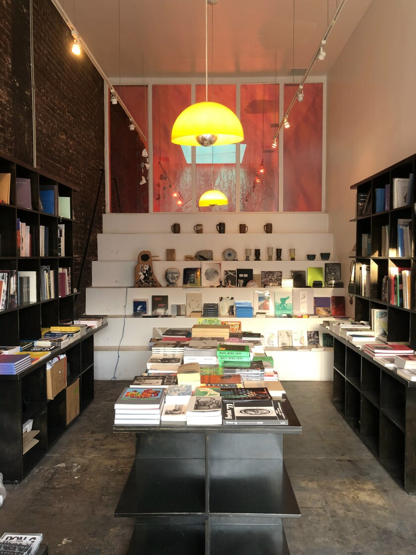 Interior of Family Books at 436 N. Fairfax Ave. in Los Angeles.