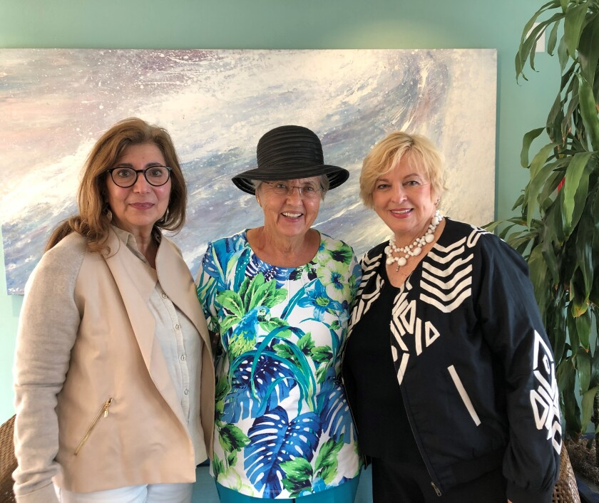 La Jolla Art Association leadership 2019