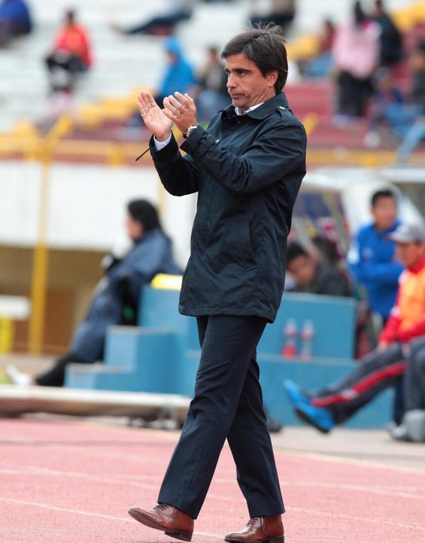 El técnico Javier Sanguinetti. EFE/Archivo
