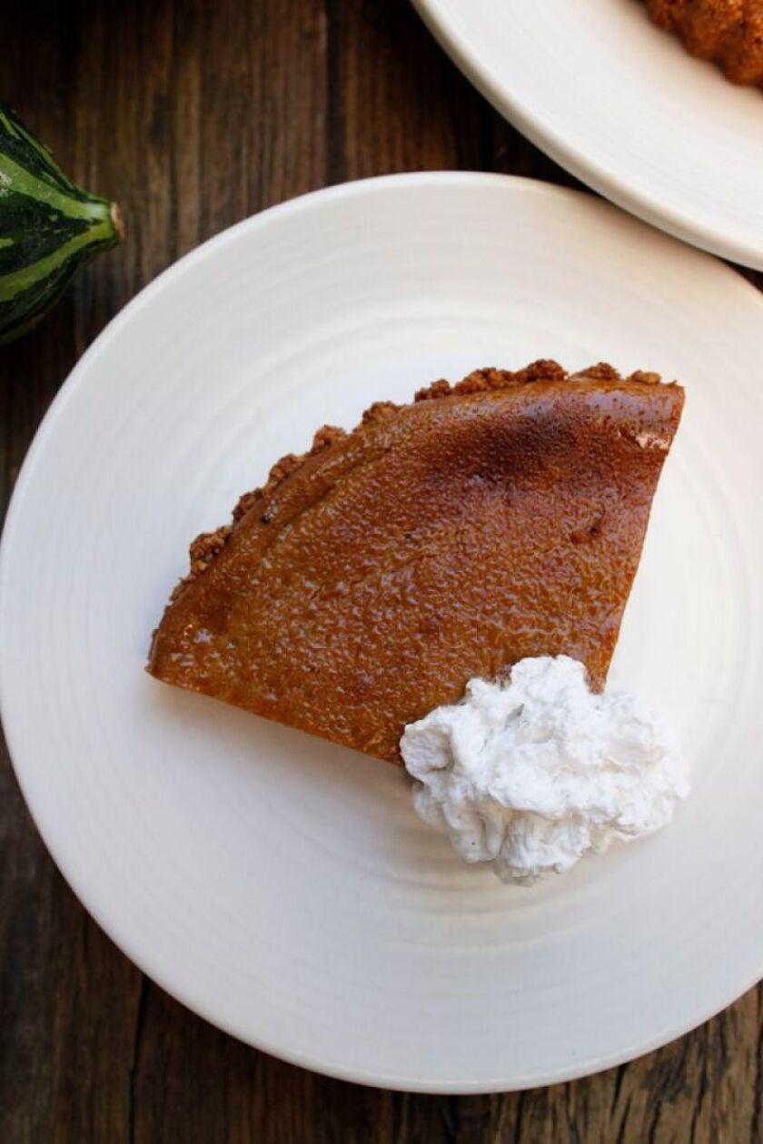 Squash pie from True Food Kitchen (Courtesy photo)