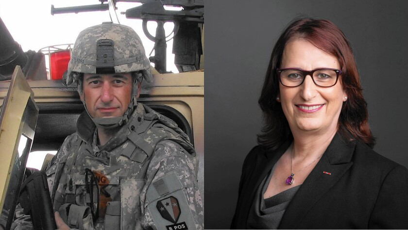 Jennifer Long served in Iraq in 2008 when she was Edward Long. She now lives in New Jersey and works as a financial advisor.