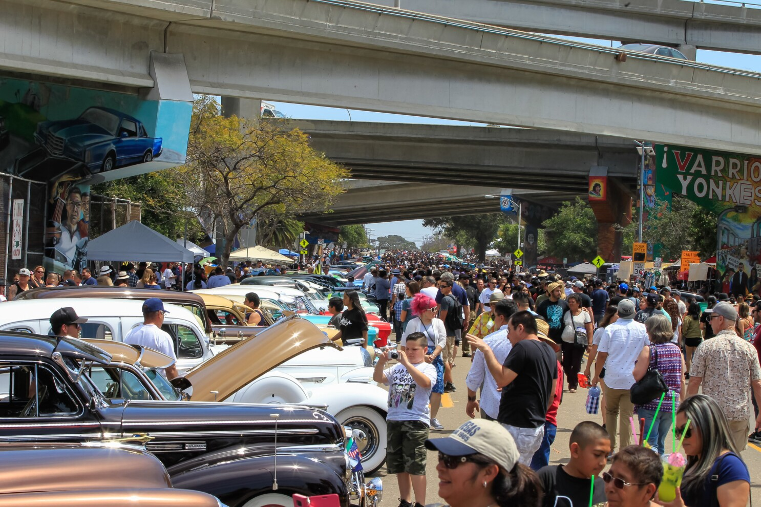 Chicano Park Day Postponed Due To Covid 19 Concerns The San Diego Union Tribune