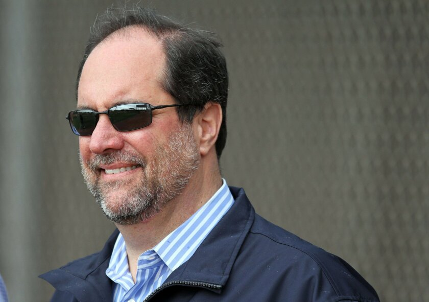 Jeff Moorad, Padres CEO, shown in 2011. Photo Sean M. Haffey/U-T San Diego