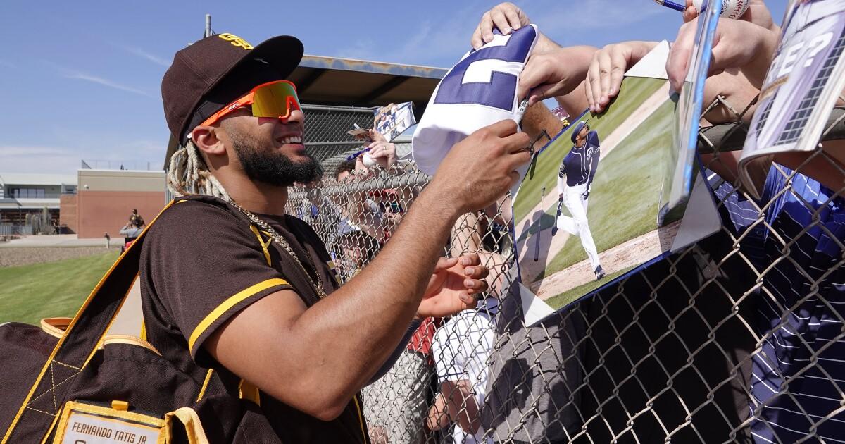 Padres' Fernando Tatis Jr. seems built to avoid letdown in his second season