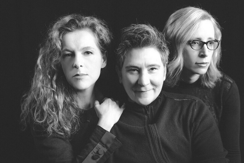 New Collaboration: Neko Case, left, k.d. lang and Laura Veirs