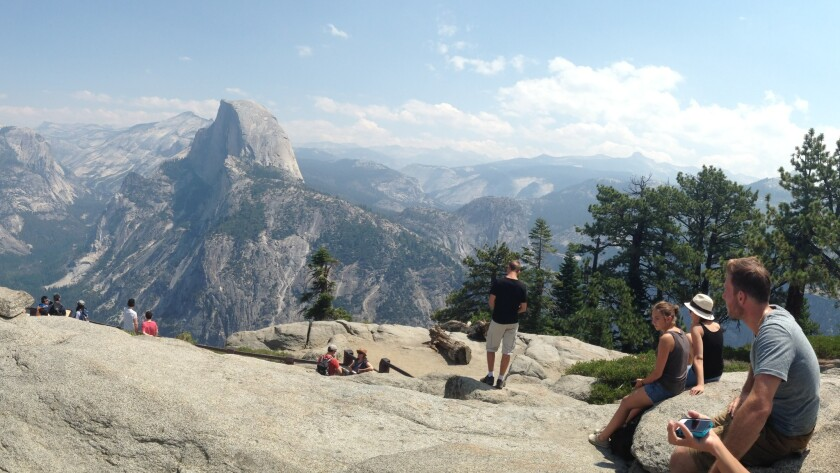 For generations, visitors have been transfixed by the view of Half Dome from Glacier Point.