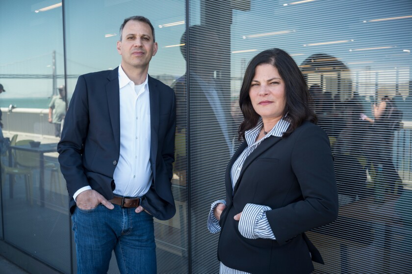 Jon Shenk and Bonni Cohen are a husband and wife film crew whose last film was about Al Gore and climate change.
