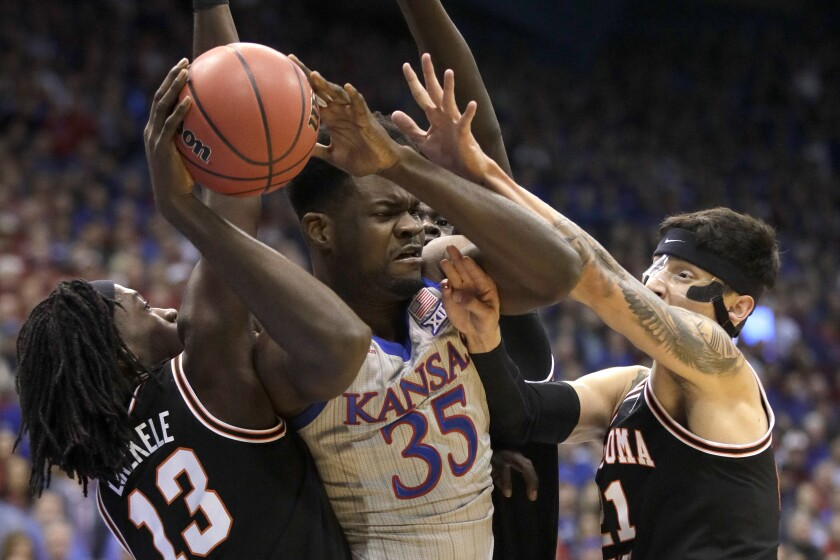Oklahoma St Kansas Basketball