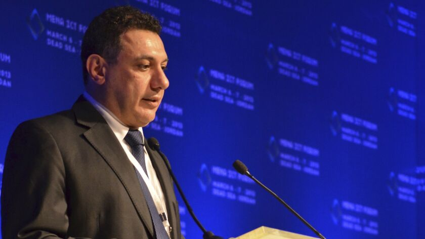 FILE - This March 6, 2013 file image provided by the Friends of Nizar Zakka, shows Nizar Zakka, a Le