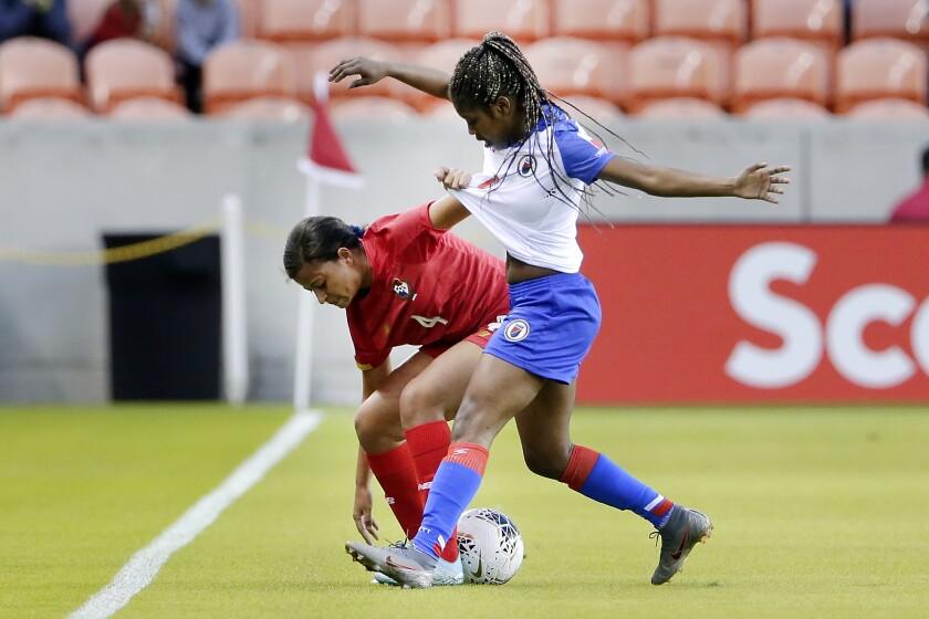Panama Haiti Soccer