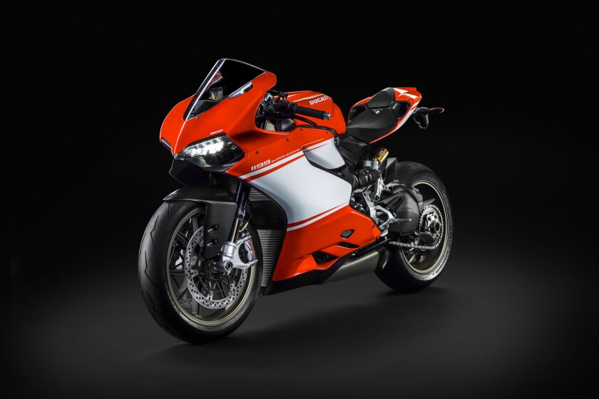 The Ducati Superleggera will be released in a limited run of only 500 units -- at $65,000 each
