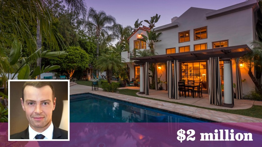 Actor Joey Lawrence has sold his home in a gated Calabasas community for $2 million.