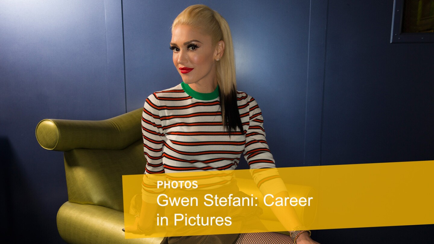 Gwen Stefani | Career in Pictures
