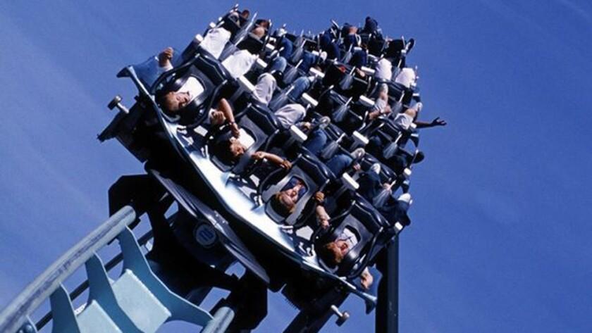 Air flying coaster at Alton Towers