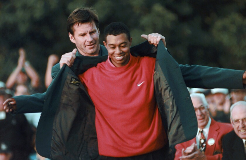 AP Was There 1997 Masters
