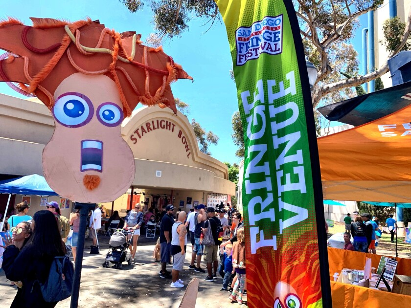 The 2019 San Diego International Fringe Festival is headquartered this year at Starlight Bowl in Balboa Park.