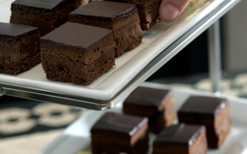 Chocolate Rigo squares