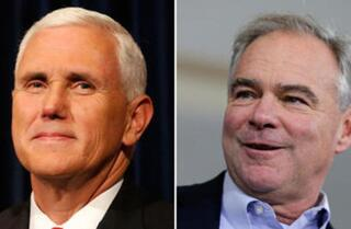 LA 90: Their debate might not matter much, but Mike Pence and Tim Kaine would be key White House players