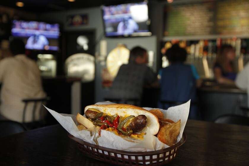 Test your trivia knowledge (and chow down on a specialty sausage) at Regal Beagal in Mission Hills.