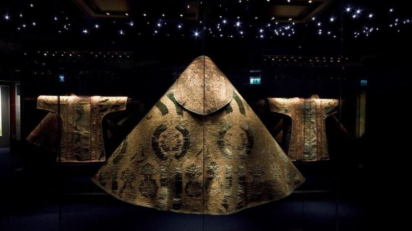 Cloth of Gold Vestments exhibition in the Waterford Museum of Treasures.