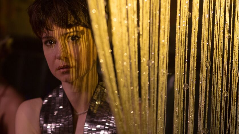"Katherine Waterston in the movie ""State Like Sleep."""
