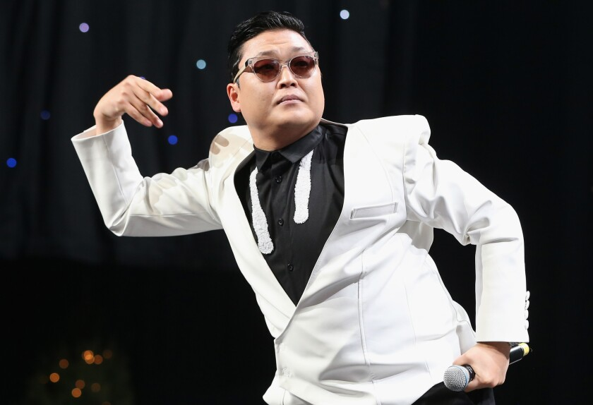 """Psy's trademark hit """"Gangnam Style"""" is so popular that it exceeded YouTube's 2,147,483,647 view limit."""