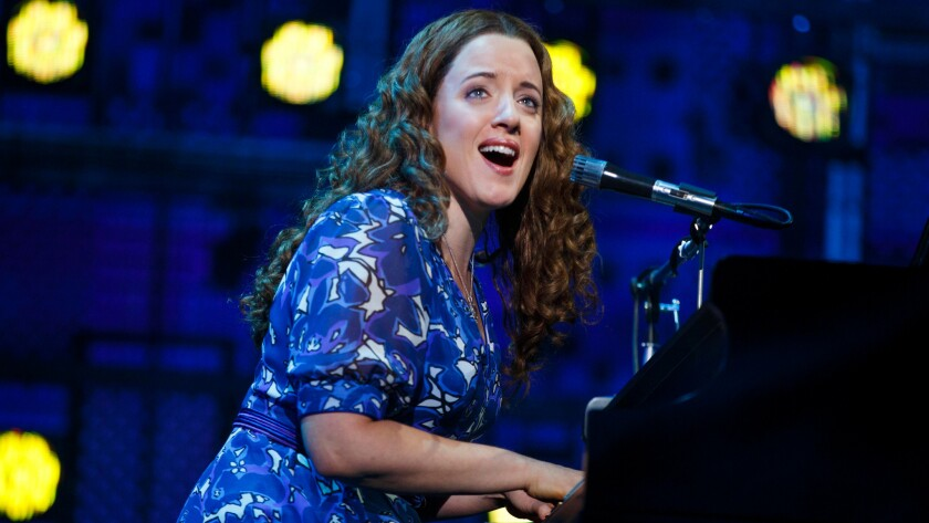 """Abby Mueller has the title role in the national tour of """"Beautiful -- The Carole King Musical."""" Her sister, Jessie Mueller, won a Tony Award for playing King on Broadway."""