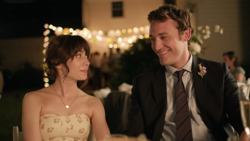 """Cristin Milioti and Dan Soder star in the bubbly ny and off-kilter film """"It Had to be You."""""""