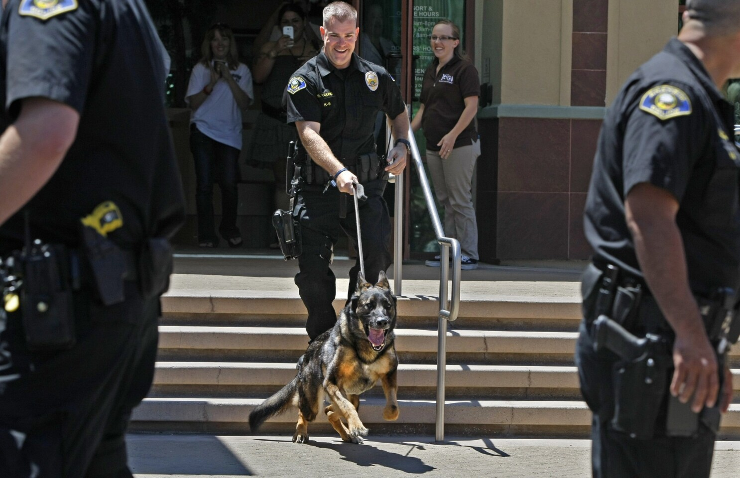 Bruno the police K-9 dies of complications stemming from