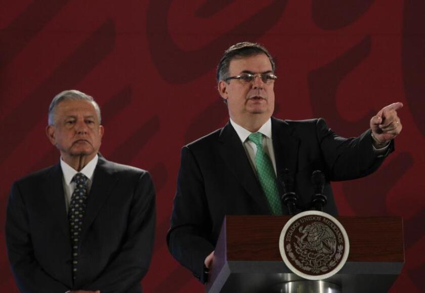 México dice que flujos migratorios bajarán a niveles históricos en octubre