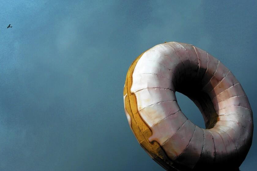 Gigantic doughnut