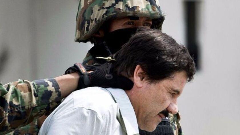 """Joaquín """"El Chapo"""" Guzmán creó un imperio ahora en disputa."""