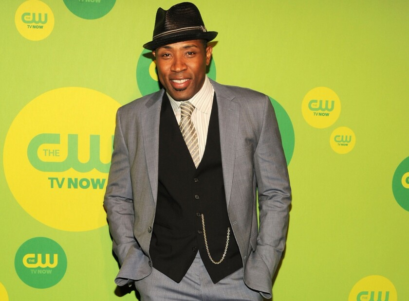 Cress Williams at the CW's upfront presentation at the London Hotel in New York.