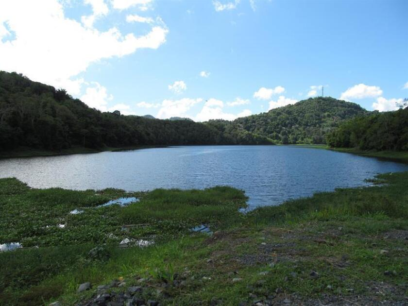 Imagen del Lago Carraízo, principal embalse de la zona metropolitana de San Juan. EFE/Archivo