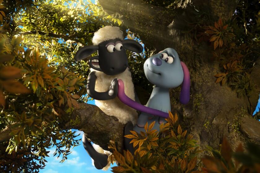 A scene from 'Shaun the Sheep Movie: Farmageddon'