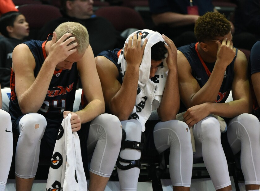 Pepperdine falls to St. Mary's, 81-66, in semifinal game of WCC men's tournament