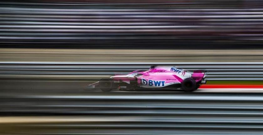 En la imagen, el piloto mexicano de Fórmula Uno Sergio Pérez, de Force India. EFE