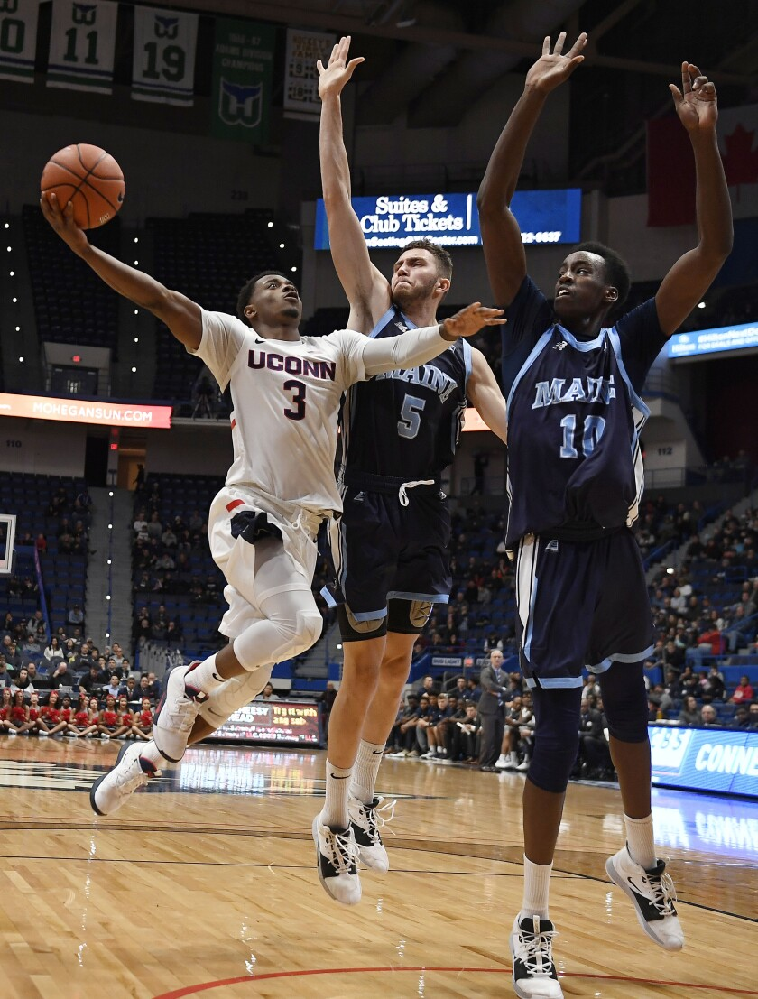 Maine UConn Basketball